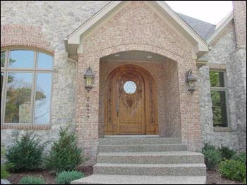 Etonnant Hardwood Door And Bevel