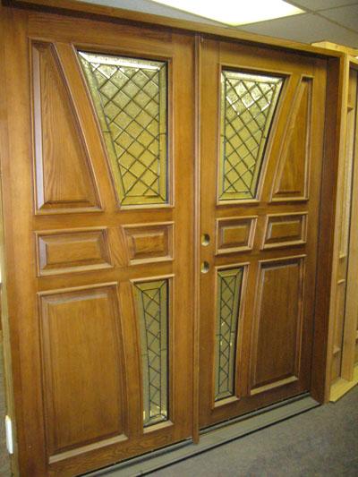 Merveilleux Pair Of Solid Ash Exterior Doors. The Total Jamb To Jamb Dimensions Are  73 1/4u201d X 81 5/8u201d X 5 1/8u201d. This Entryway Includes Two Solid Ash Exterior  Doors ...