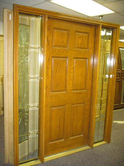 Hardwood Door And Bevel