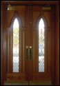 Custom Wood Door 12