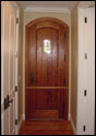 Custom Wood Door 14