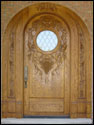 Custom Wood Door 16