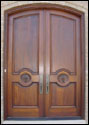 Custom Wood Door 17