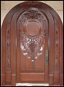 Custom Wood Door 21