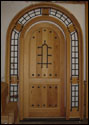 Custom Wood Door3