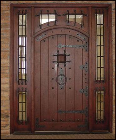 Pictures Of Hardwood Door And Bevel