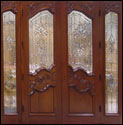Custom Wood Door 36