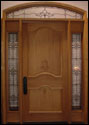 Custom Wood Door6