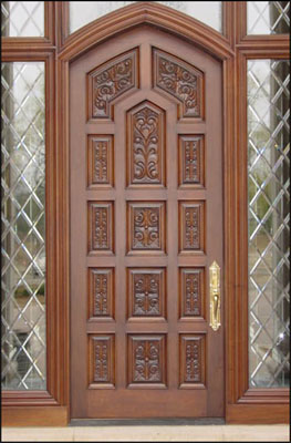 custom wood door custom wood doors interior exterior