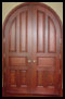 Custom Wood Doors Example C