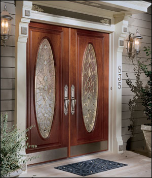 Hardwood Door And Bevel